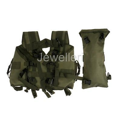 Tactical Military Army Airsoft Paintball Combat Assault Plate Carrier Vest