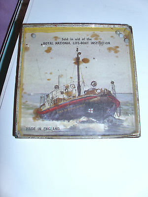 Rare R.n.l.i. Cased Glass Ball Puzzle - Duchess Of Kent Boat