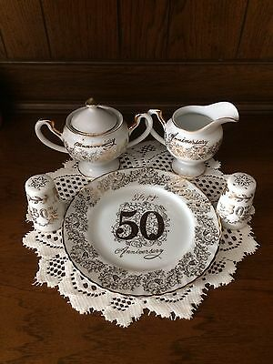 Norcrest Fine China 50Th Anniversary Set