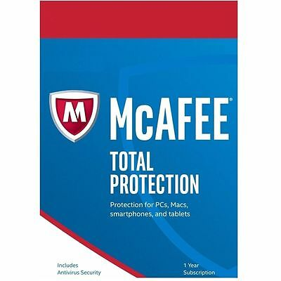 Mcafee Total Protection 2017 -  For Unlimited Devices  - Download