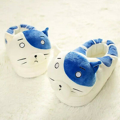 Cute Anime Himouto! Umaru-chan Big Cat Winter Cotton Shoes Slippers Indoor Gift