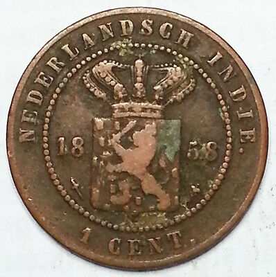 Netherlands East-Indies1858 One Cent