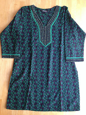 Indian Bollywood Embroidery Designer Kurta kurti Women Ethnic Dress Top Tunic