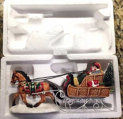 Department 56 Heritage Village A Holiday Sleigh Ride Together #54921 Boxed