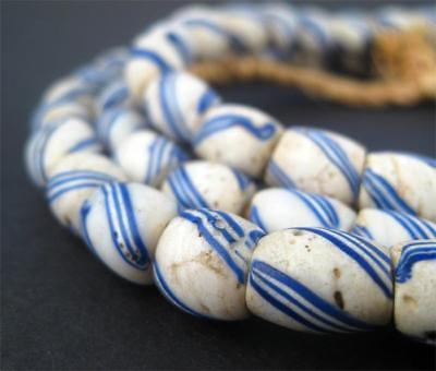 African Antique Great Lake Trade Beads (Long Strand) West Africa