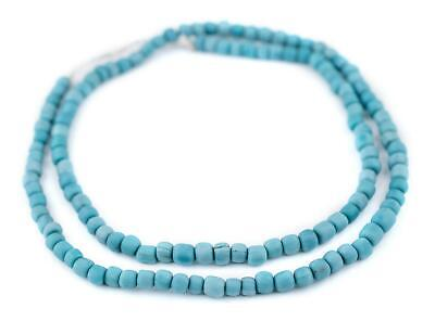 Turquoise Java Glass Beads