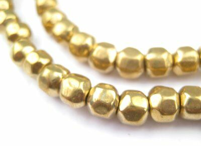 Rounded Brass Nugget Beads