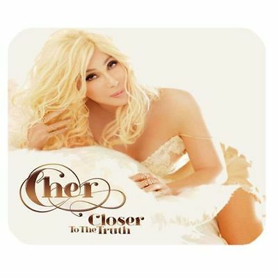 """Cher """"Closer to the Truth"""" cd  Mousepad New!"""
