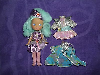 1986 Hasbro Moon Dreamers Whimzee Doll with Extra Clothing