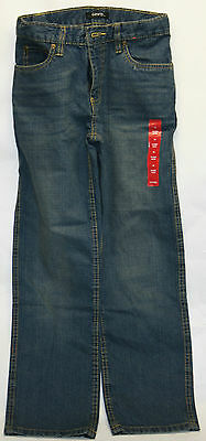NEW - George Size 10 Youth 100% Cotton Straight Leg Blue Jean Pants