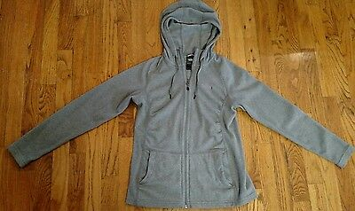 The North Face Women's Full Zip Jacket Hoodie Gray Size SMALL