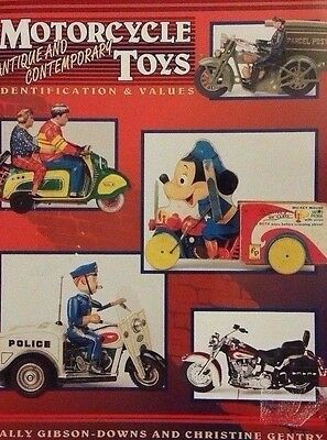 Antique Die-Cast Motorcycle Encyclopedia Value Guide Collector's Reference Book