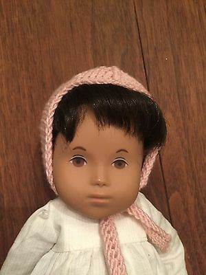 Sasha and Sylvia Natterer Gotz Baby Hand Knitted Bonnets Doll Clothes