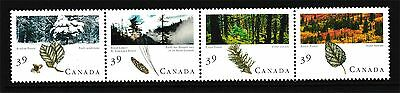 Canada Stamps - Strip of 4