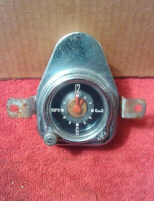 Ford in Dash Wind Up Red hand Clock Part Number 1A-15000-A1 May 1951
