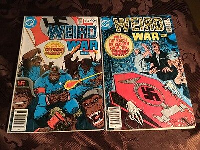 Lot Of 2Weird War Tales 89,90 Good-Low Grade Best Price In Canada With Shipping