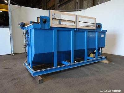 Used- Great Lakes DAF 55 Dissolved Air Floatation Clarifier, Carbon Steel. Appro