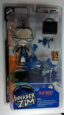 Invader Zim Dib Hot Topic Exclusive Action Figure Series 1 New in Package
