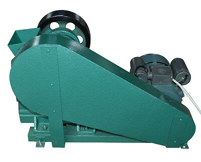 100X60 Mini Jaw Crusher  220V for Rock  Ore Slag Steel Slag Coal Stone Crushing