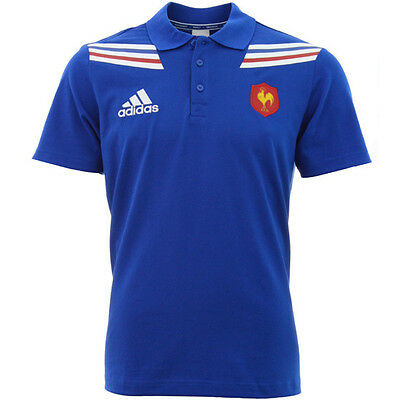 France Rugby Polo Shirt (M)