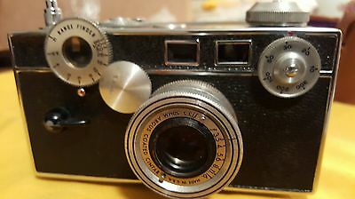 "Vintage1948 Argus Rangefinder ""Brick"" Camera 35mm with Leather Case"