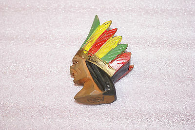 Vintage Wooden Chief Pipe Bowl The Thunderbird Vancouver Canada