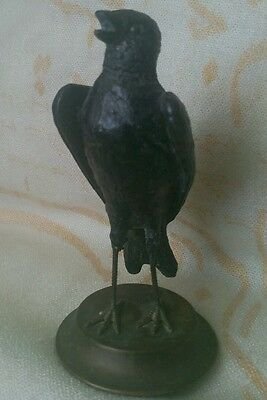 Wonderful Vtg Petites Choses Metal Finch Bird Figurine 1985