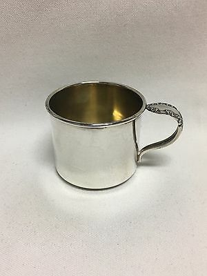 Rogers 09 Bridal Veil Sterling Silver Baby Cup No Mono