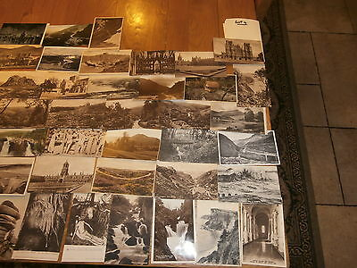 50 Old vintage postcard collection  places people scenery lot 4