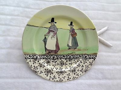 "Royal Doulton Series Ware Rack Plate ""Welsh"" D3363 26.5cms. Signed by Noke."