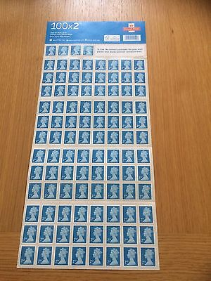Royal Mail 2nd class postage stamps