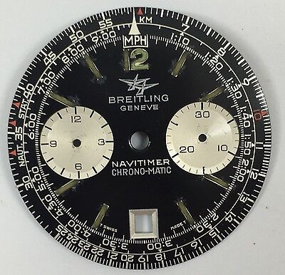 Genuine Vintage Breitling Navitimer Chronograph-Matic Dial 33Mm Rare To Get