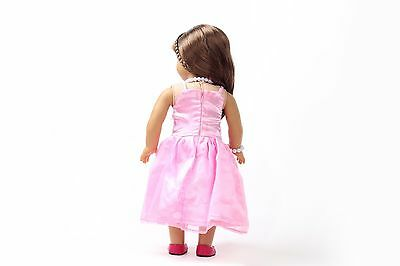 2017 gift Handmade lovely dress clothes for 18 inch American Girl Doll b114