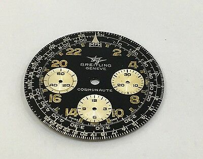 Genuine Vintage Breitling Navitimer Cosmonaut Dial 33Mm Rare To Get
