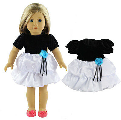 2016  Handmade fashion clothes dress for 18inch American girl doll b704