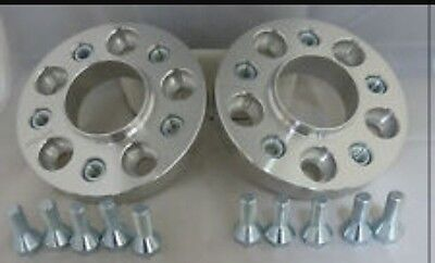 BMw wheel spacers 5x120 35mm set of 4