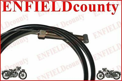 Spare Front Brake Cable For Early Royal Enfield Magura Type Levers @cad