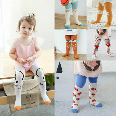 Cute Newborn Infant Baby Boy Girl Knee High Pantyhose Socks Toddler Stockings