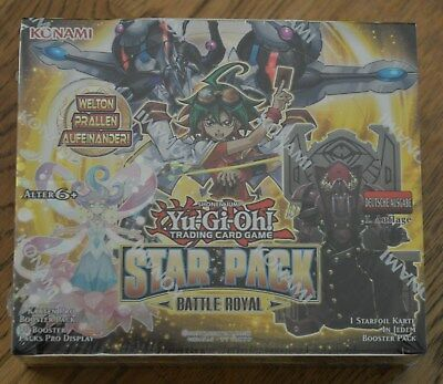 Yu-Gi-Oh! Star Pack Battle Royal 50 Booster Display 1. Auflage German