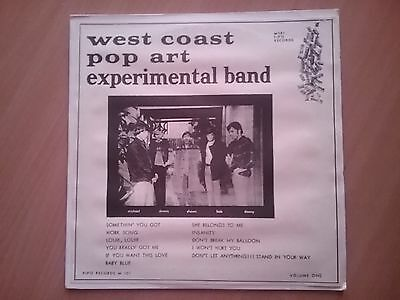 The West Cost Pop Art Experimental Band  Volume 1 Reissue