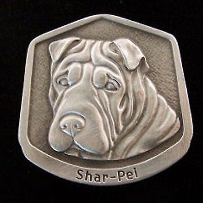 Shar-pei Fine Pewter Dog Breed Ornament