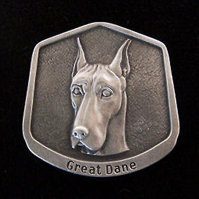 Great Dane Fine Pewter Dog Breed Ornament
