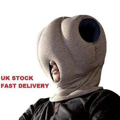 Ostrich Pillow Sleeping Napping Head Neck Travel Cushion *UK STOCK*