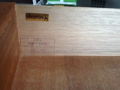 Hans Hayson Dressing Table With Mirror And Two Side Tables With Draws