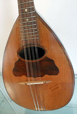mandolino montirassi 8 corde Mandolin rare collectible 8 strings vintage