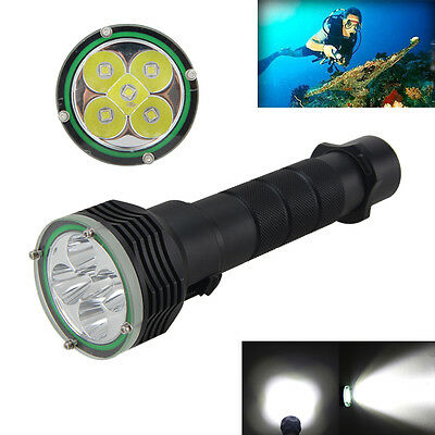 10000Lm 5x XM-L2 LED Luz 100m Buceo Flashlight Linterna Diving Torch Antorcha