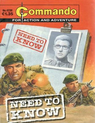 Commando Comic, Issue 4236, Oct 2009, Need To Know