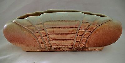 Vintage Retro DIANA POTTERY TROUGH VASE #6