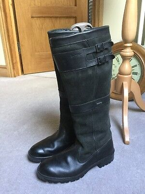 Dubarry Longford Boots In Black Size 43/9