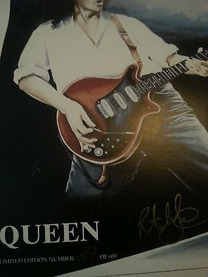 Queen Limited Edition Of Only 600 Copies Art Work Drawing Freddie Mercury
